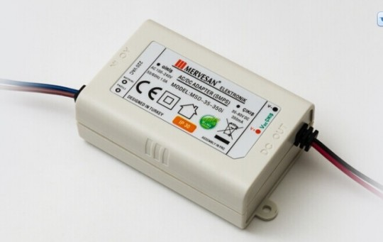 MTD-35-350i 30-80VDC 350 mA IP30 LED Sürücü