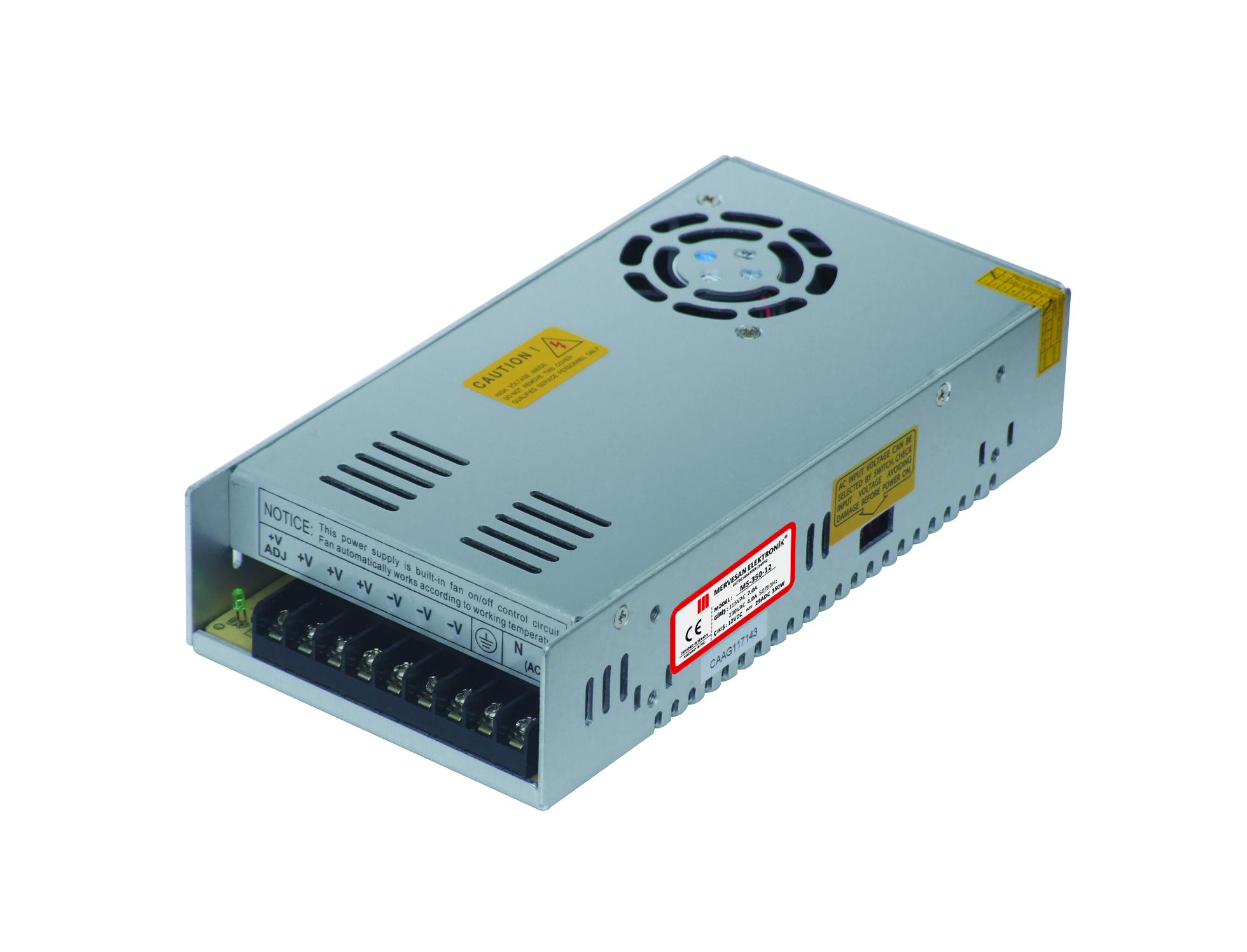 MT-350-12 12 Volt 29 Amper SMPS