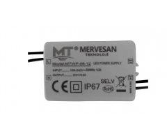 MTWP-06-12 12V 0.5A (IP67)